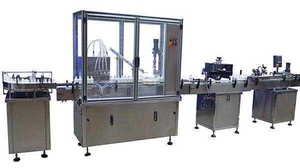 Automatska mašina za zatvaranje i označavanje boca