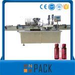 Poluautomatska mašina za punjenje vakuumskih tečnosti niska