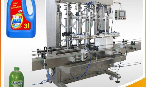 Mašina za punjenje tekućina sa dvostrukom glavom sa automatskim klipom
