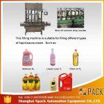 Automatska mašina za punjenje 2, 4, 6, 8, 10, 12 glava jestivih ulja za kuhanje
