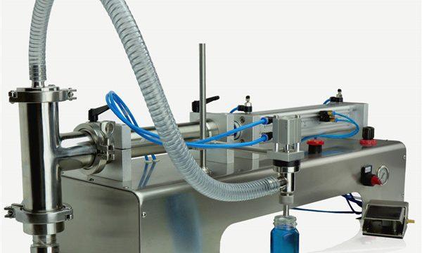 Pneumatska upravljačka mašina za punjenje ulja sa dvostrukim glavama