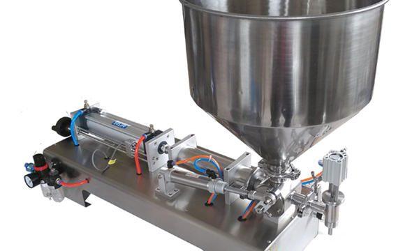 Poluautomatska mašina za punjenje staklene posude sa staklenkom