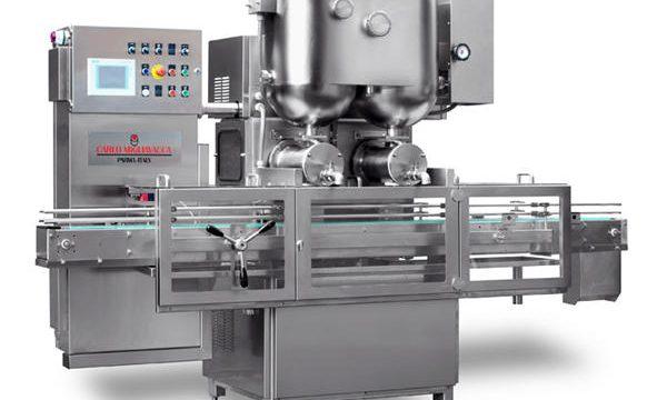 Poluautomatska mašina za punjenje voća s dvostrukim glavama