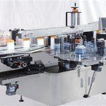 Staklena mašina za površinsku nalepnicu sa bočicama parfema