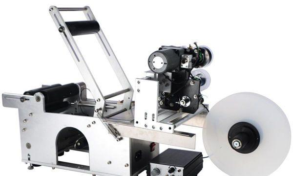 Poluautomatska mašina za etiketiranje boca sa okruglim bocama