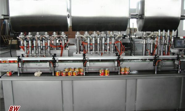 Automatska mašina za punjenje umaka za pizzu