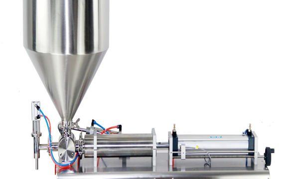 Poluautomatska mašina za punjenje krem posuda