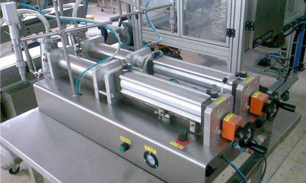 Kvalitetna mašina za punjenje tekućih šampona sa dvostrukim mlaznicama