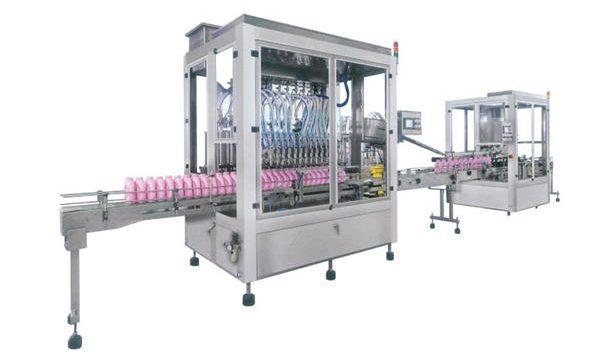 Potpuna automatska mašina za punjenje tekućeg sapuna sa deterdžentom