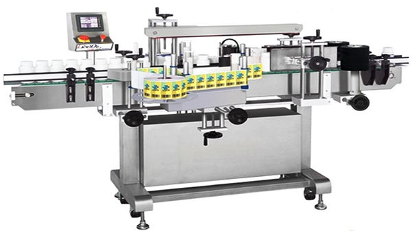 Automatska mašina za etiketiranje boca sa dvostrukom stranom stakla