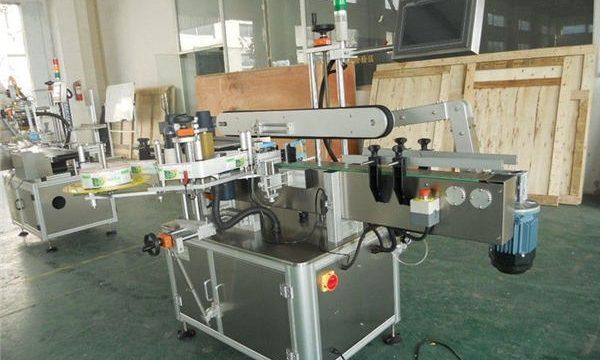 Mala mašina za naljepnice na kartonskoj kutiji sa ravnim etiketama