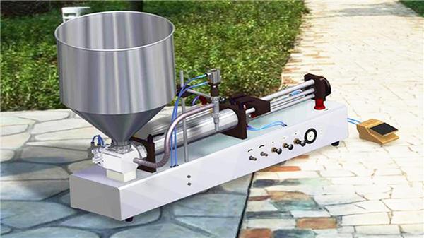 Polu-automatska mašina za punjenje zubne paste