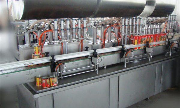 Stroj za punjenje dvostruke glave s punim automatskim čilijem