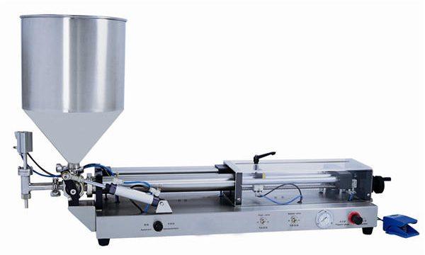 Poluautomatska mašina za punjenje paste za 3mL-5L