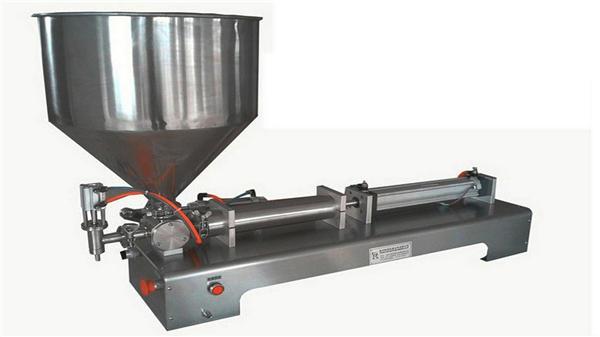 Polu-automatska mašina za punjenje vertikalnih pasta sa jednom glavom