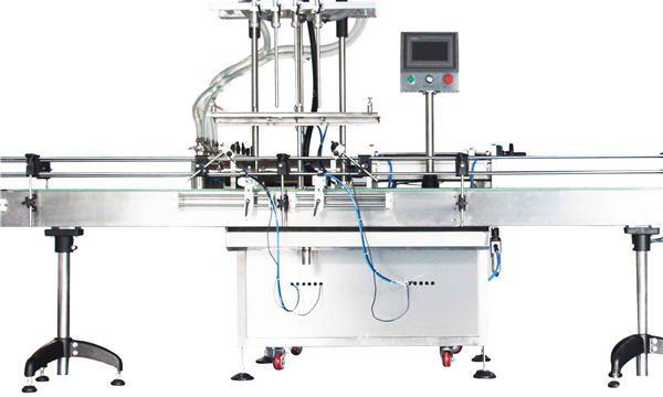 Automatska mašina za punjenje klipa sa losionom za 8, 10, 12 glava