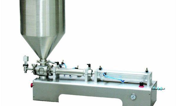 Pneumatska mašina za punjenje klipa, Mašina za punjenje gustim kremama