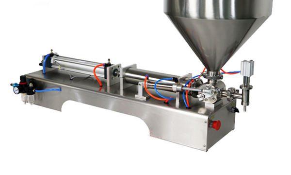 Polu-automatska mašina za punjenje krema od 100-1000ml